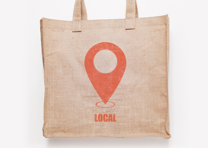 Local grocery bag