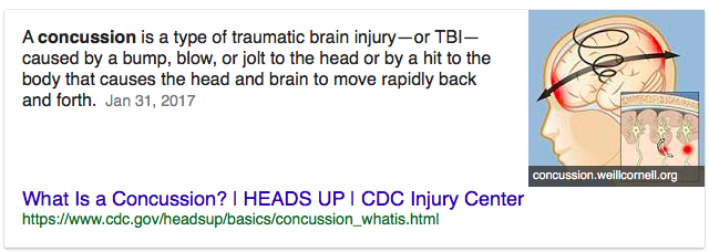 An example of a SERP featured snippet that will be a boon for voice search optimization.