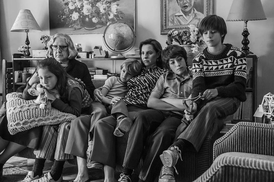 A photo from the Netflix film Roma.