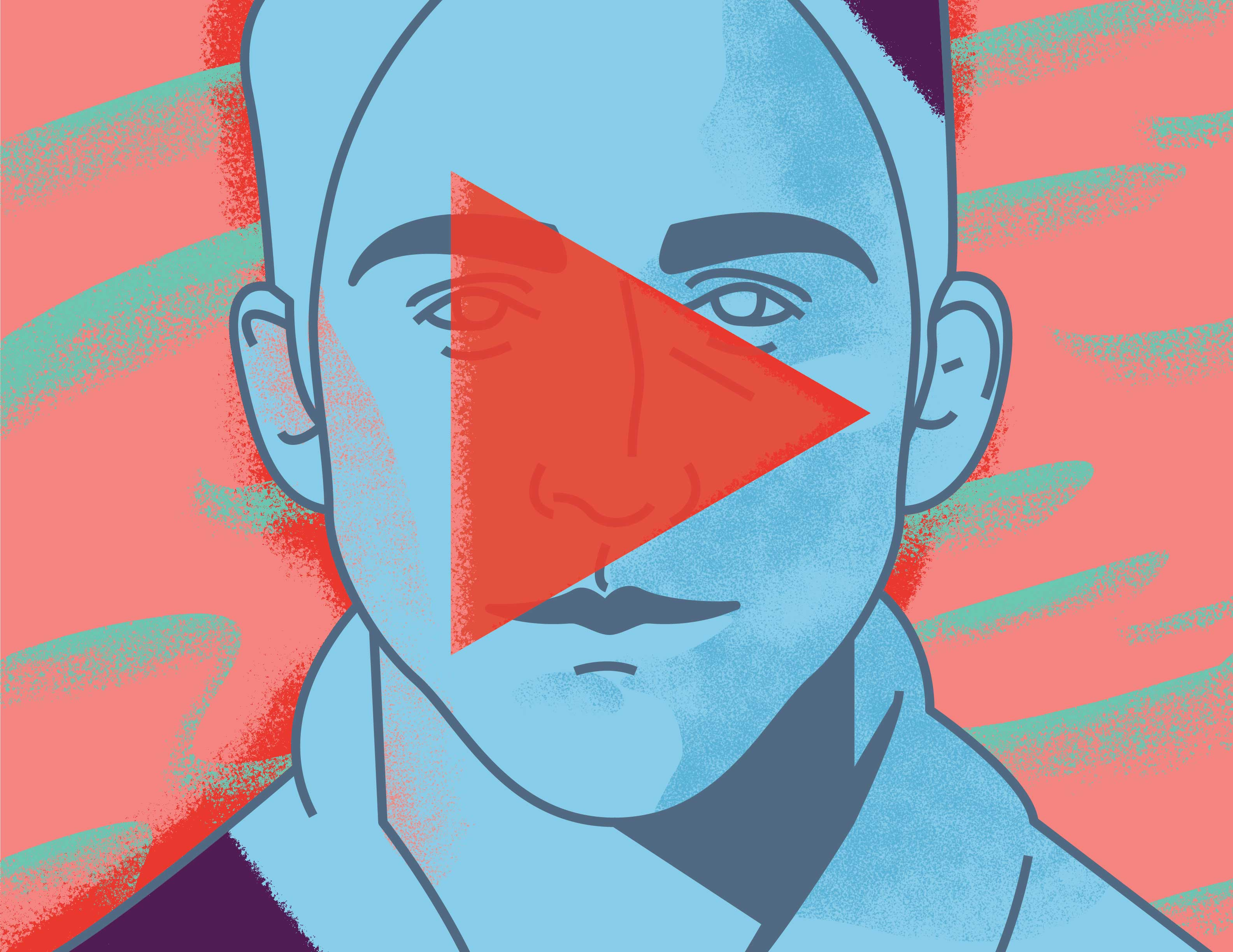 Illustration for an article on viewer experience