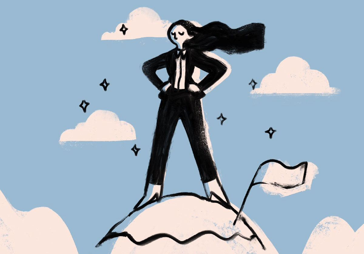 Illustration for an article on why we need to reassess what we think of as success